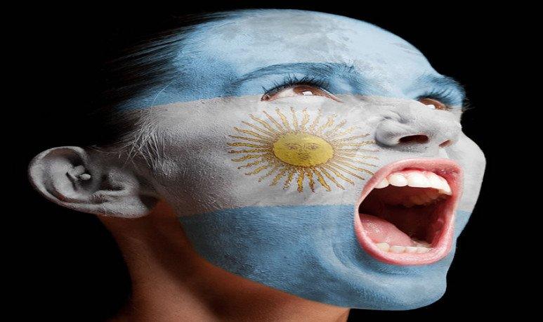 La emoción de ser argentino.