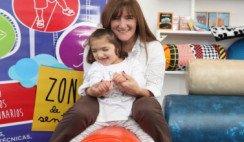 La discapacidad de su hija la inspiró a crear un espacio on-line para ayudar a otros padres