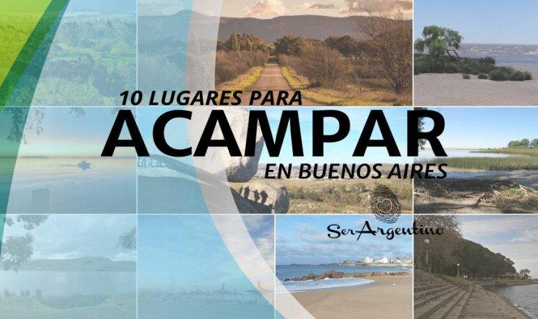 Donde acampar en Buenos Aires?