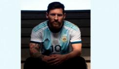 Messi brindó una entrevista