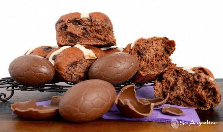 Bollos de chocolate