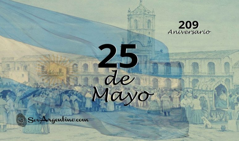 25 de mayo - revolucion de 1810
