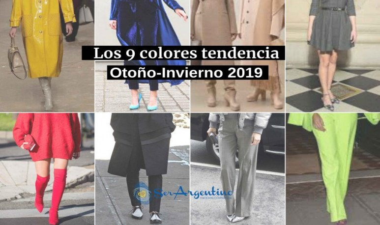 9 colores tendencia
