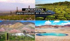 4 lugares de argentina