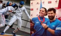 Más medallas en Esgrima
