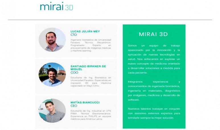 Mirai3D