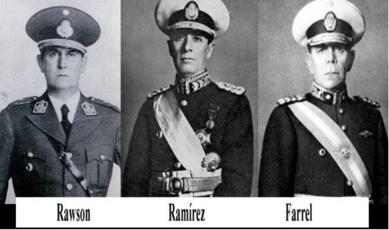 presidentes de facto