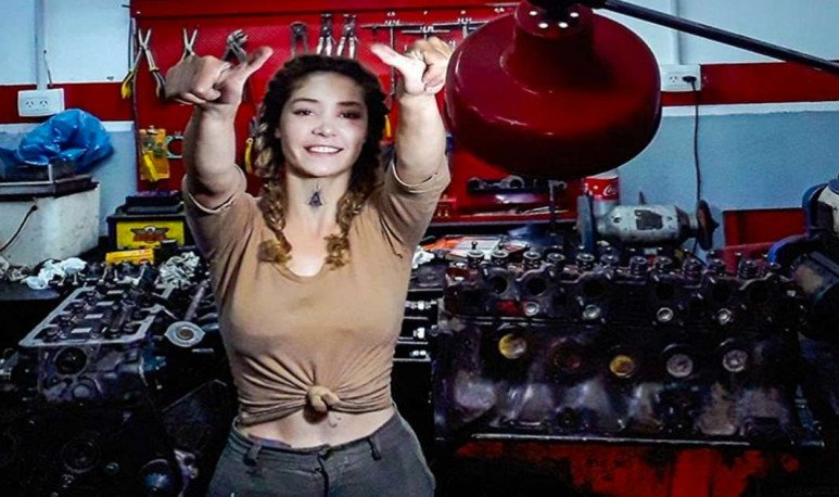 Belén Prieto mecanica
