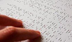 partituras para ciegos