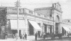 El antiguo Mercado Central de Santa Fe