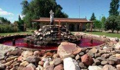 La fuente del vino en San Rafael