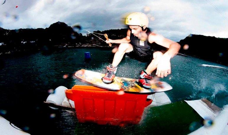 Laguna Azul deportes náuticos