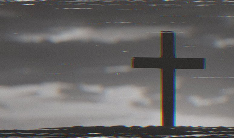La cruz de Francisco López leyenda