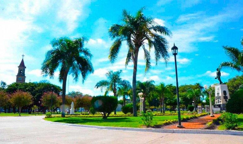 Plaza 25 de Mayo Reconquista Santa Fe