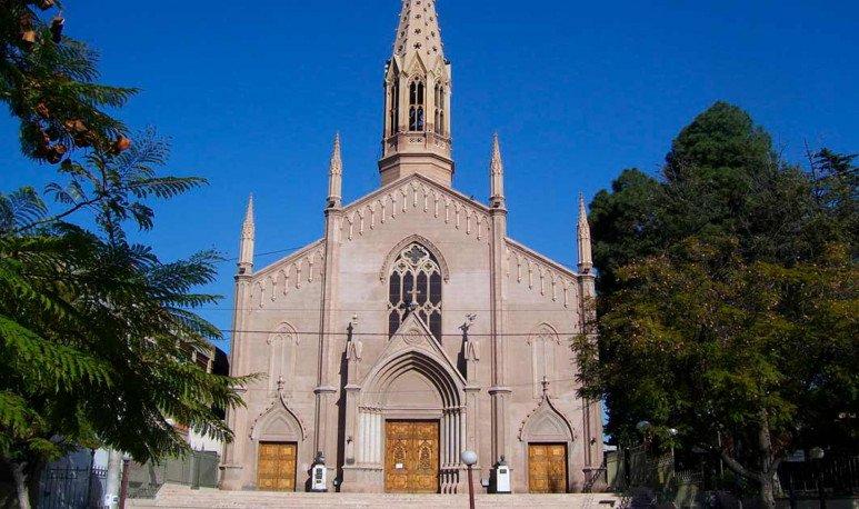 frente de Iglesia San Vicente Ferrer en Mendoza
