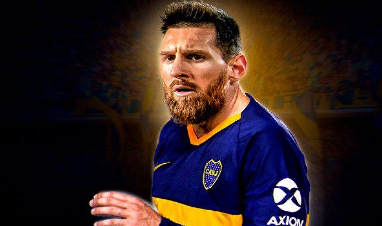 Messi a Boca Juniors