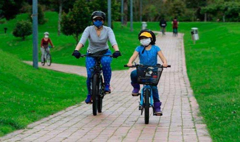 los sanjuaninos prefieren evitar el transporte público con bicicletas.