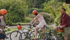 en bici por lujan de cuyo