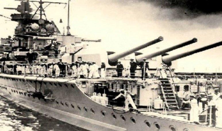 sobrevivientes del Acorazado Graf Spee