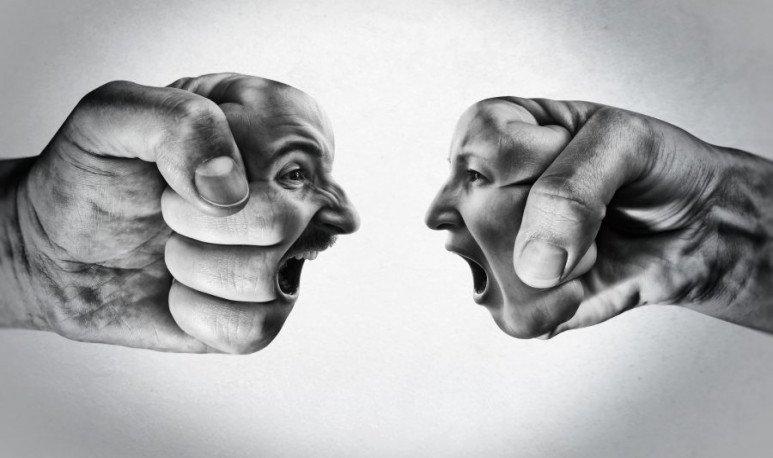 La agresión como muestra de cariño