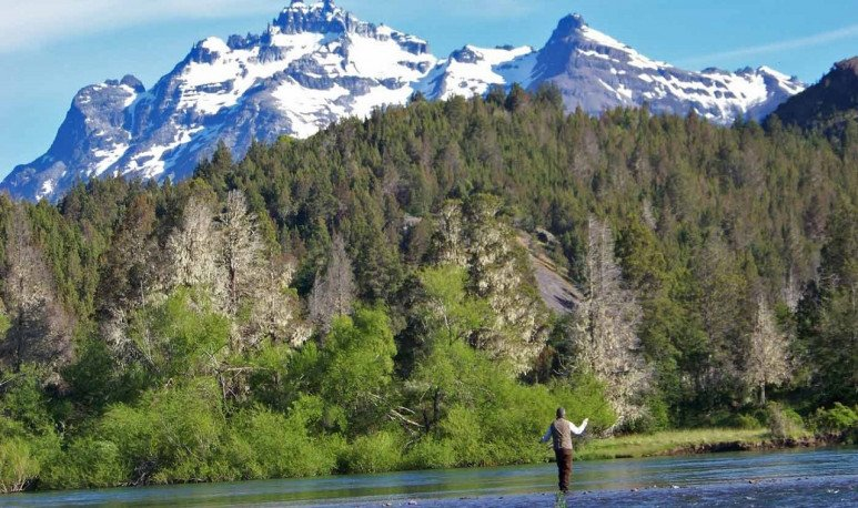 pesca deportiva en trevelin
