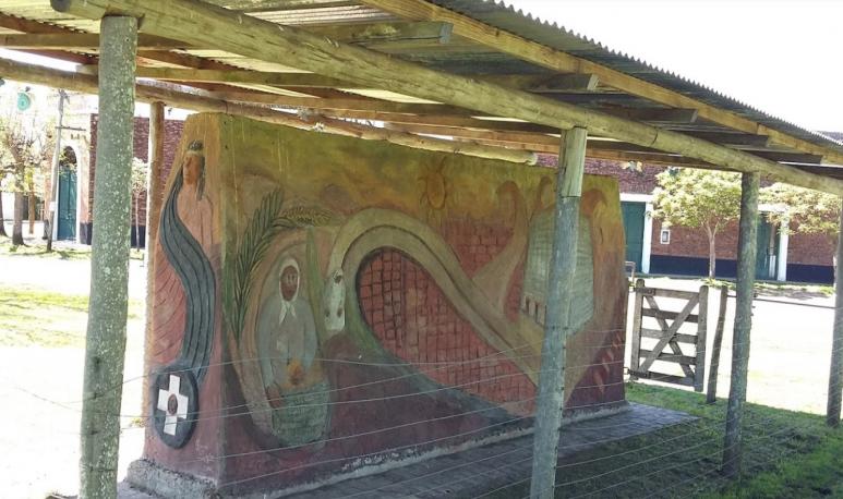 mural en azcuenaga provincia de buenos aires