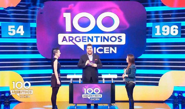 100 argentinos dicen programa de tv