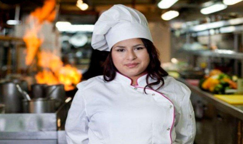 cocinera  Elba Rodríguez