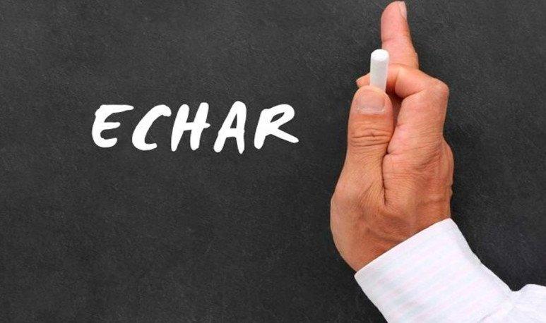 Echar