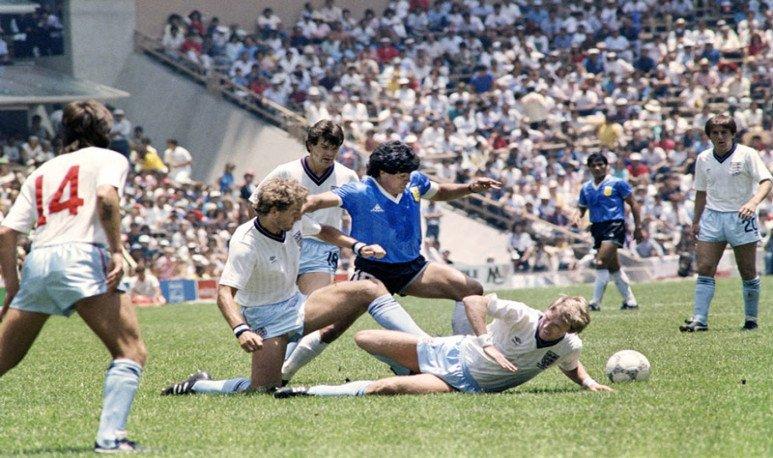 Maradona contra los ingleses