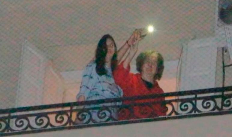 Charly García balcon