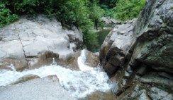 La cascada de Los Pizarros