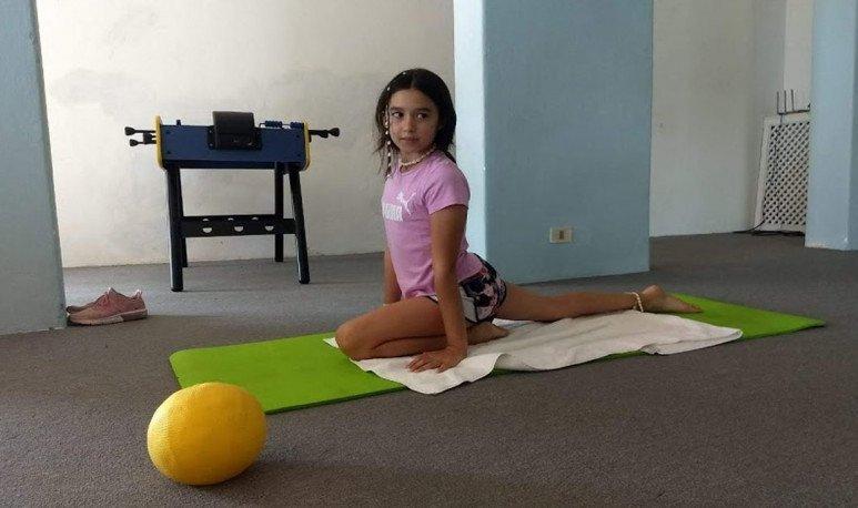 nena hace gym