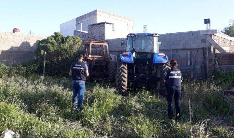 robo de tractores