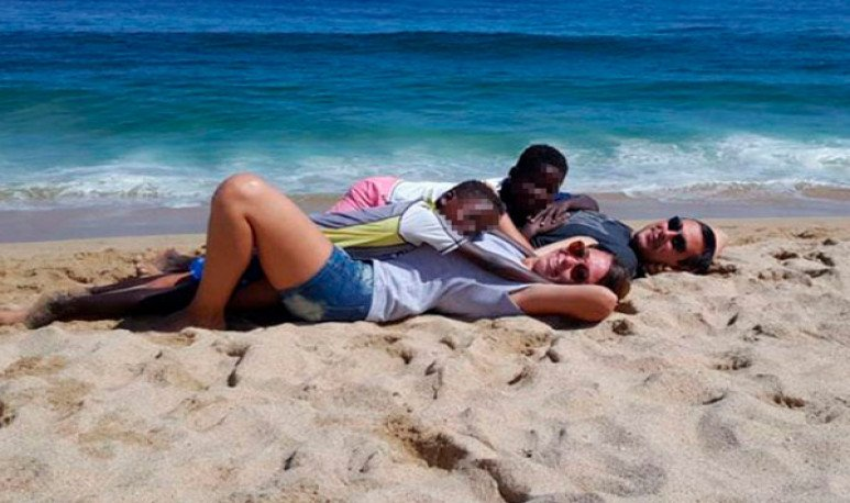 Una familia mendocina adoptó a chicos africanos