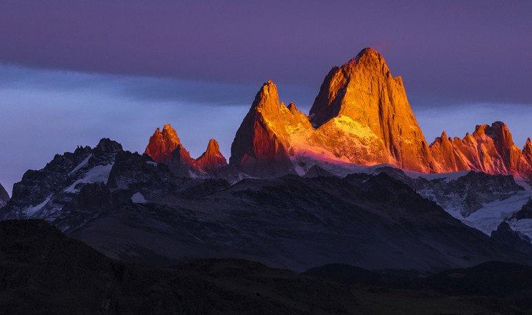 patagonia cordillera