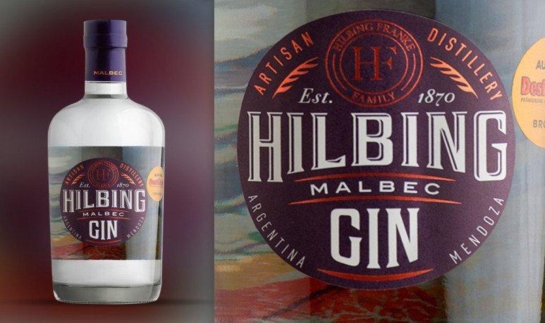 gin hilbing etiqueta
