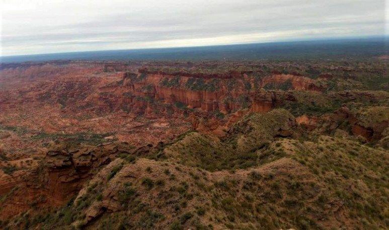 donde queda el parque nacional las quijadas