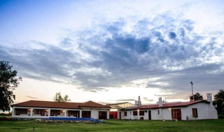 The pampean village of three inhabitants, which is tourist attraction