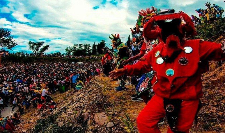 Tilcara celebrated Carnival