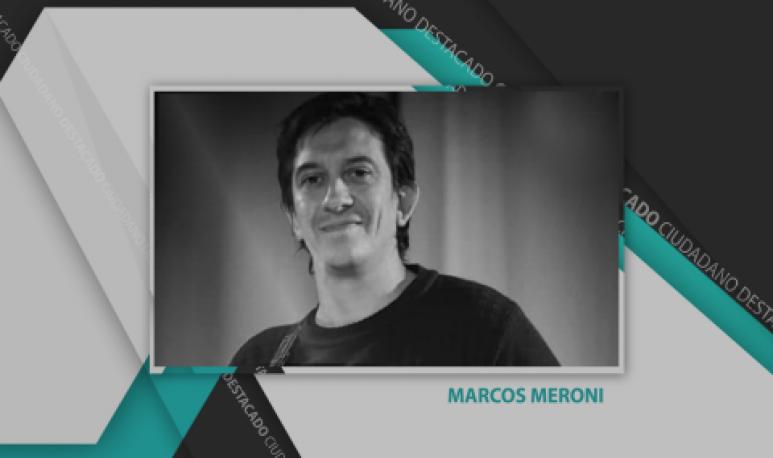 Marcos Meroni, el músico de Achiras que creó una banda con compromiso social