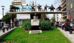El monumento a Pugliese