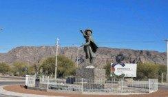 el monumento a Margarita Palacios