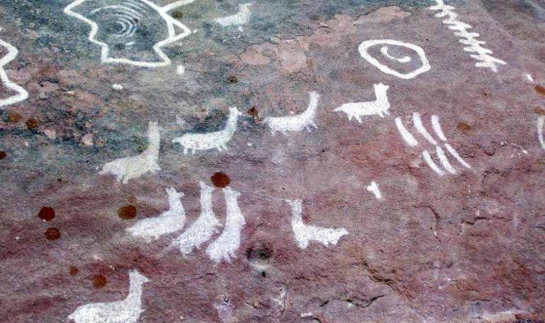 pictografias en cerro colorado