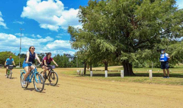 bicicleteando por colon