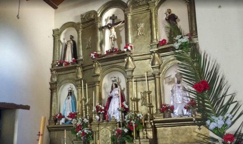 La bonita iglesia salteña, de arquitectura cuzqueña, es Monumento Histórico desde 1942 y data de 1659.