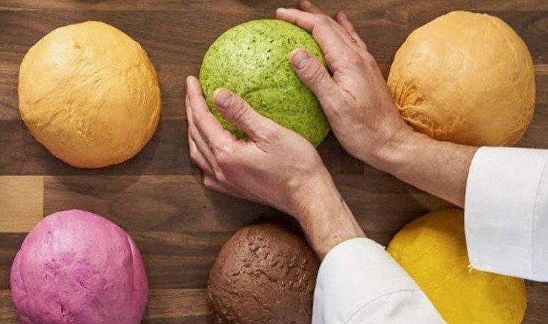 Una colorida propuesta en Palermo, empanadas con el corazón del mundo y en atrayentes colores.