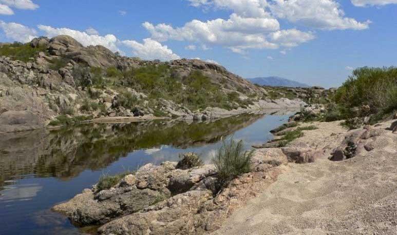 Río Mina Clavero, una de las 7 maravillas argentinas