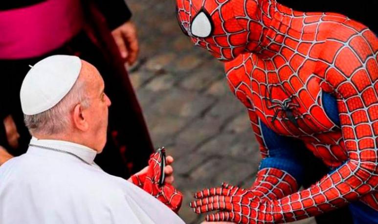 Vaticano Spiderman