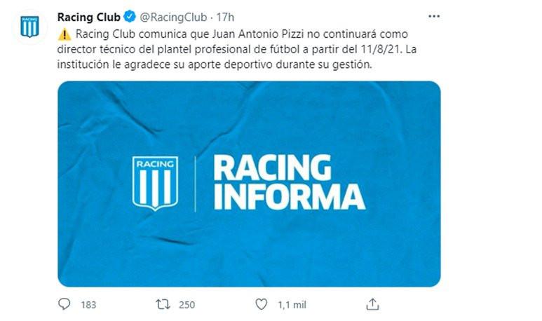Racing Twitter